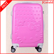 ABS+PC kids rolling trolley luggage case suitcase