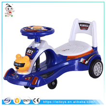 2016 new products on market in the philippines plastic toy car blue happy swing car