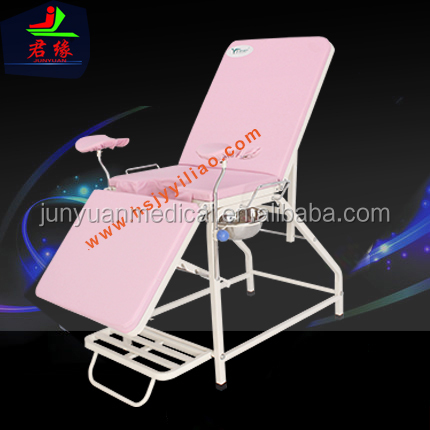 2017 top selling alibaba medical manual bed medical furniture Z10 gynecology checking chair for women hopsital chair for clinic