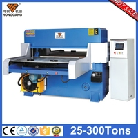 four column industrial guillotine paper cutting machine