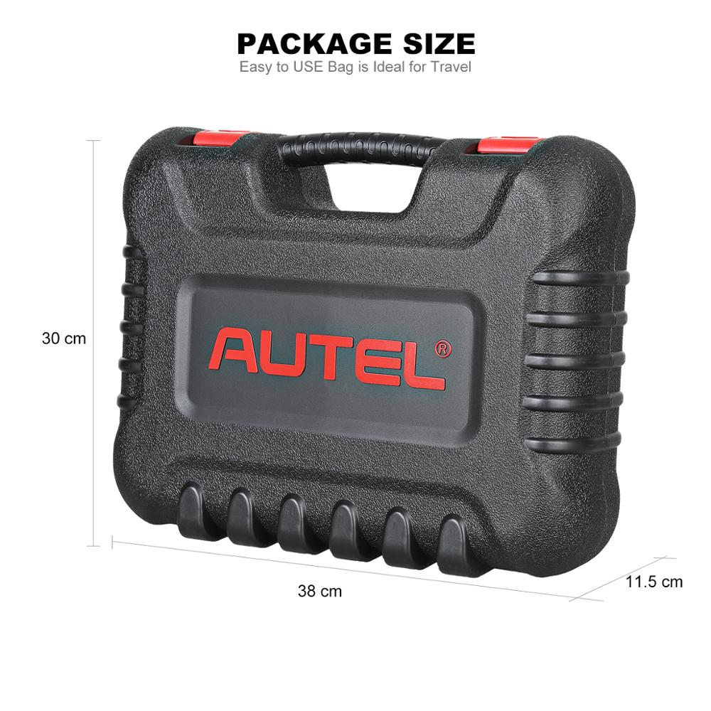 5 Star Tevredenheid Autel MaxiCOM MK808 Alle Systeem Obd2 Multi Vehicle Diagnostic Tool Scanner