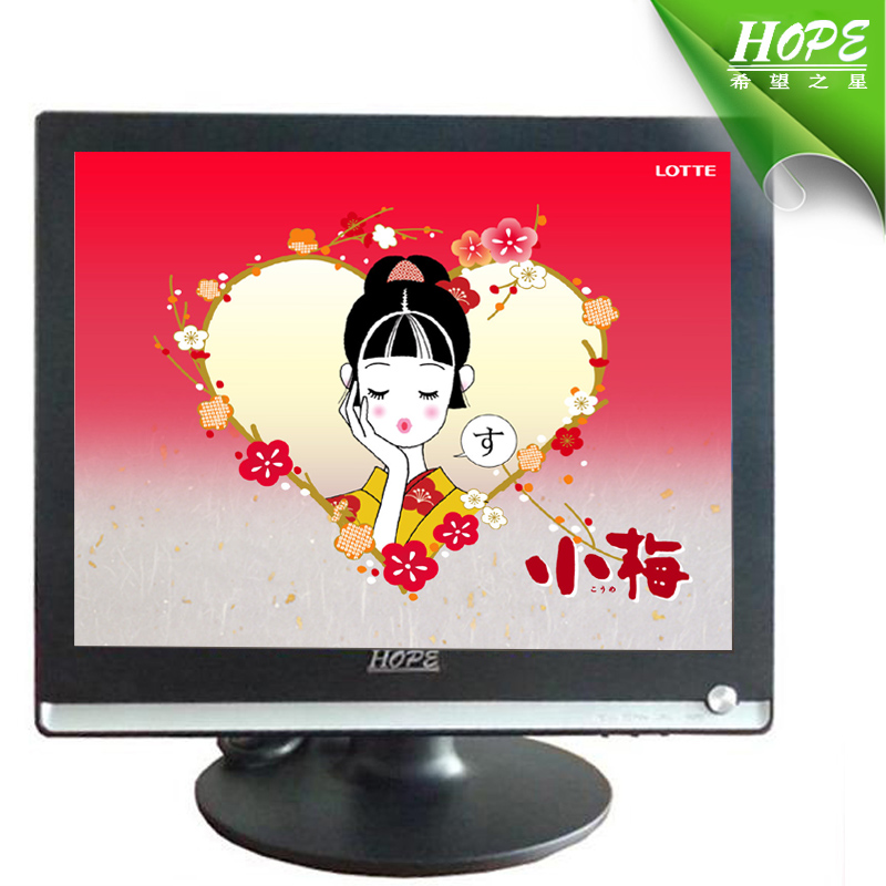 17 inch lcd tv bus monitor 17 inch 1080p lcd monitor