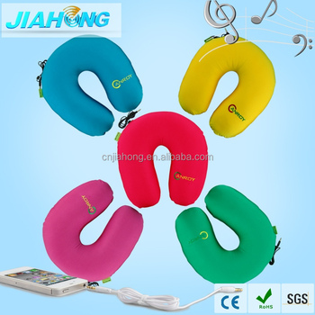 Colorful with high grade material personalized travel neck pillow