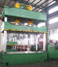 Four column ceiling tile hydraulic press machine