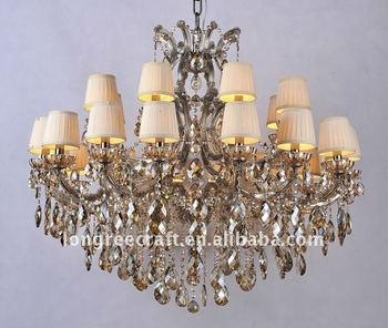 16-Light Magnificent t Crystal Ceiling Decoration LRC060