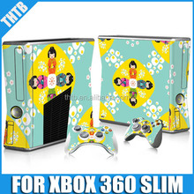 Video game designs for xbox360 slim skin sticker