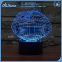 FS-2902 special lamp 3d led projector decoration in living room for good gifts