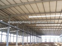 galvanized workshop steel structure