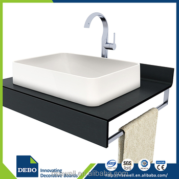 Top quality composite bathroom laminate laminate countertops