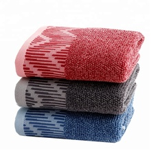 China supplier <strong>100</strong>% cotton fitness body towel for guests