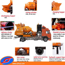 Linuo C5 universal concrete mixer , electric mini concrete mixer, diesel concrete mixer