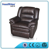 one seat black color rocker recliner living room sofa sets