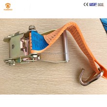 High strength and quality ratchet strap lashing strap