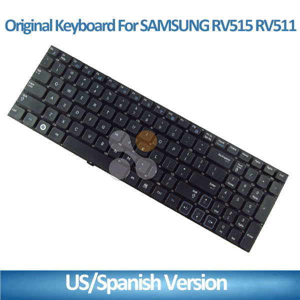 Notebook Keyboard For Samsung RV515 RV511 E3511 RV509 RV520 S3511 RC530 laptop Spanish keyboard