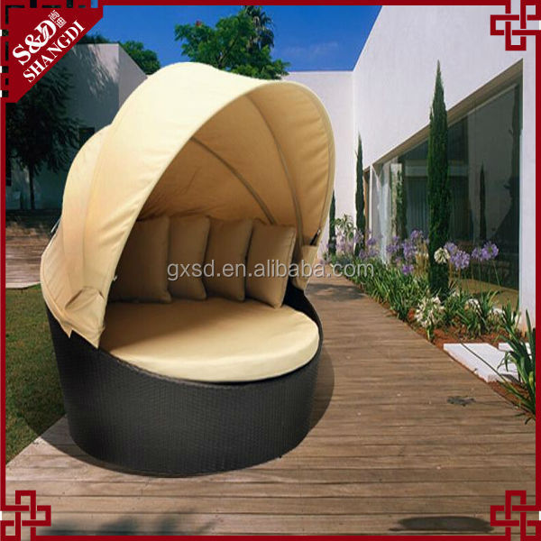 S.D new type leisure outdoor lounge sofa outdoor round sofa