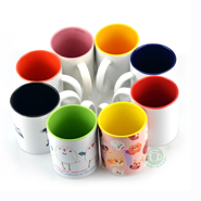 Sublimation Blank Ceramic Plate 8 inch  wholesale