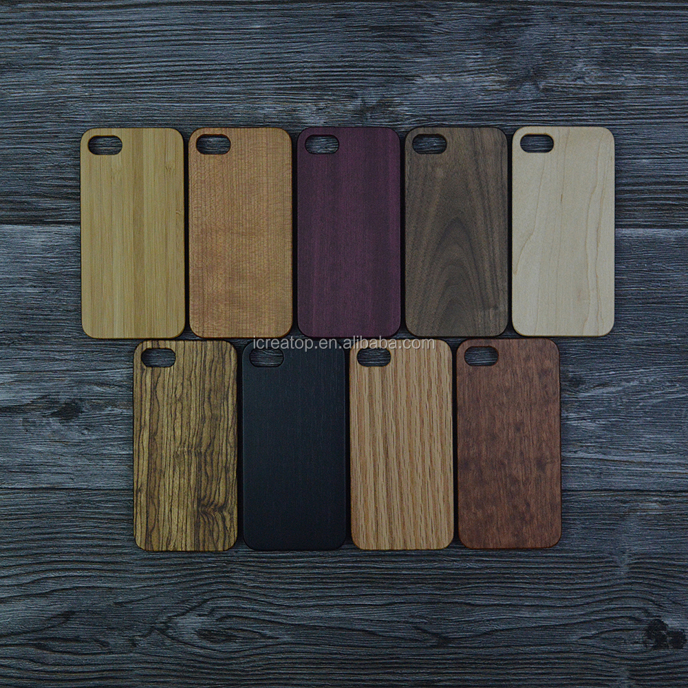 wholesale eco-friendly 360 full real wood TPU phone cases back cover for iphone 7 / iphone 7plus case wood