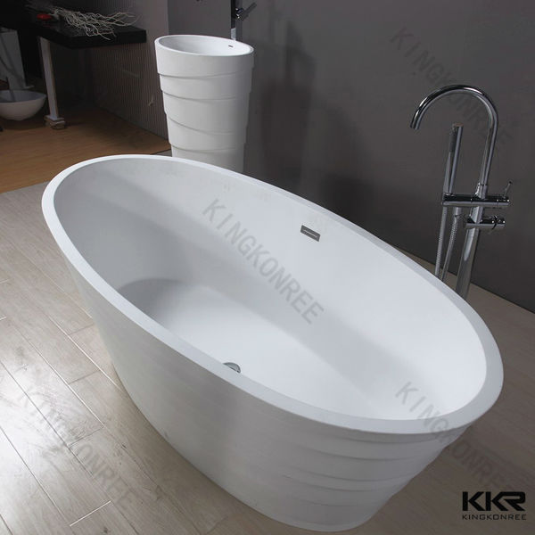 small unique acrylic resin stone fancy freestanding bathtubs