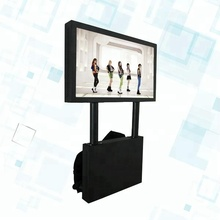 24 Inch Indoor Outdoor LCD LED Backpack Human Walking Mobile Rechargeable Advertising Display Screens