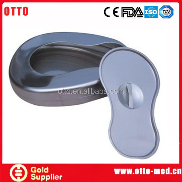otto medical Stainless steel bedpan cover
