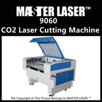 Low Cost Laser Cutting Machine with Laser Metal Tube for Plastic