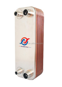 CB76 Brazed Plate Heat Exchanger condenser and evaporator for heat pump system HU95