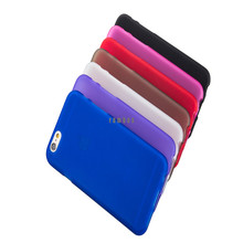 New Matte TPU Gel Silicone Skin Cover Protective Back Case Etui Coque for iPhone 4 5 5C 6 6 Plus