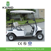 Classic design 4 wheels electric golf buggy golf pick up cart