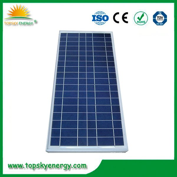 PV Module Polycrystalline Silicon Material 35 watt photovoltaic solar panel