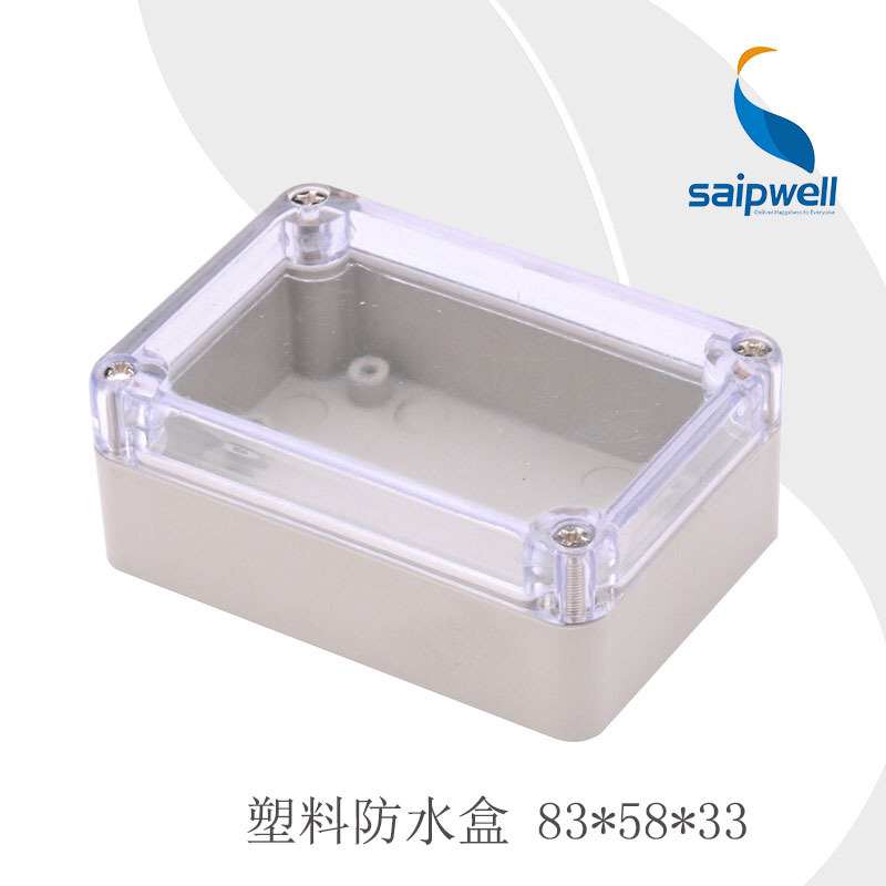 SP-F19-1T 83*58*33mm Best Price Whole Waterproof Clear Electronic Project Box Plastic Junction Box IP65 Enclosure Case