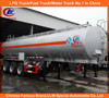 Heavy duty carbon steel oil tank truck trailer 3 axle oil tank truck trailer stainless steel oil tank trailer