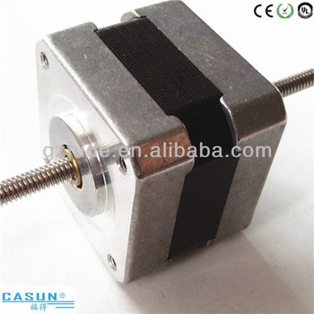 Non captive linear stepper motor with shaft 3d printer for for Low profile stepper motor