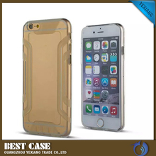 Armor slim transparent phone case waterproof soft TPU mobile cell phone case cover for Apple iphone 5