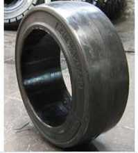 Hot sale press-on solid tyre 229*127*127mm china tyre quick delivery