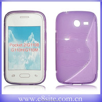 Cell Phone S Line TPU Case For SamSung Galaxy Pocket 2 G110B