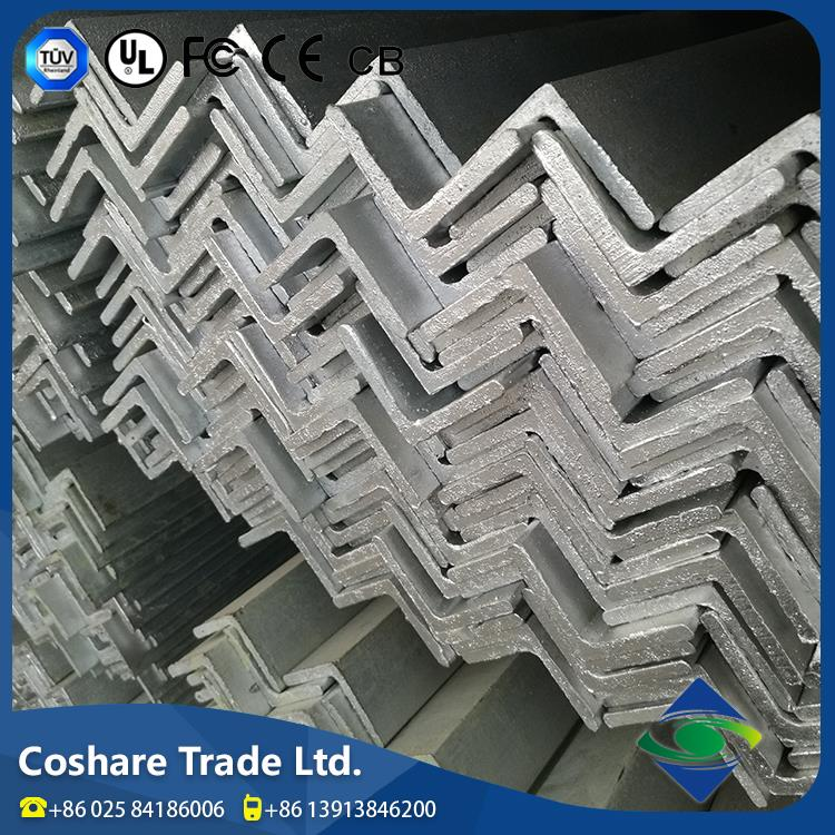 COSHARE- Customized High user evaluation steel galvanized angle iron bar angle steel