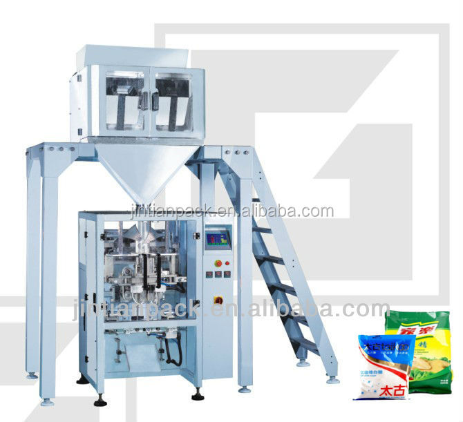 Factory price Automatic Rice Packaging Scale Grains Weighting and Packing Machine