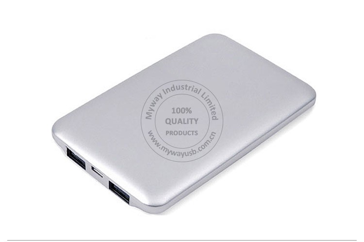 Power Bank 6000 mAh Portable Polymer Powerbank Mobile Charger Backup External Battery Charger For All Moblie Phone