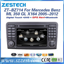 automotives parts car navigation head units for Mercedes Benz gl-class x164 ML 350 2005-2012 dvd gps radio