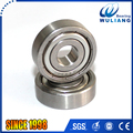 Stainless steel deep groove roller ball S6200ZZ bearing with 10*30*9mm