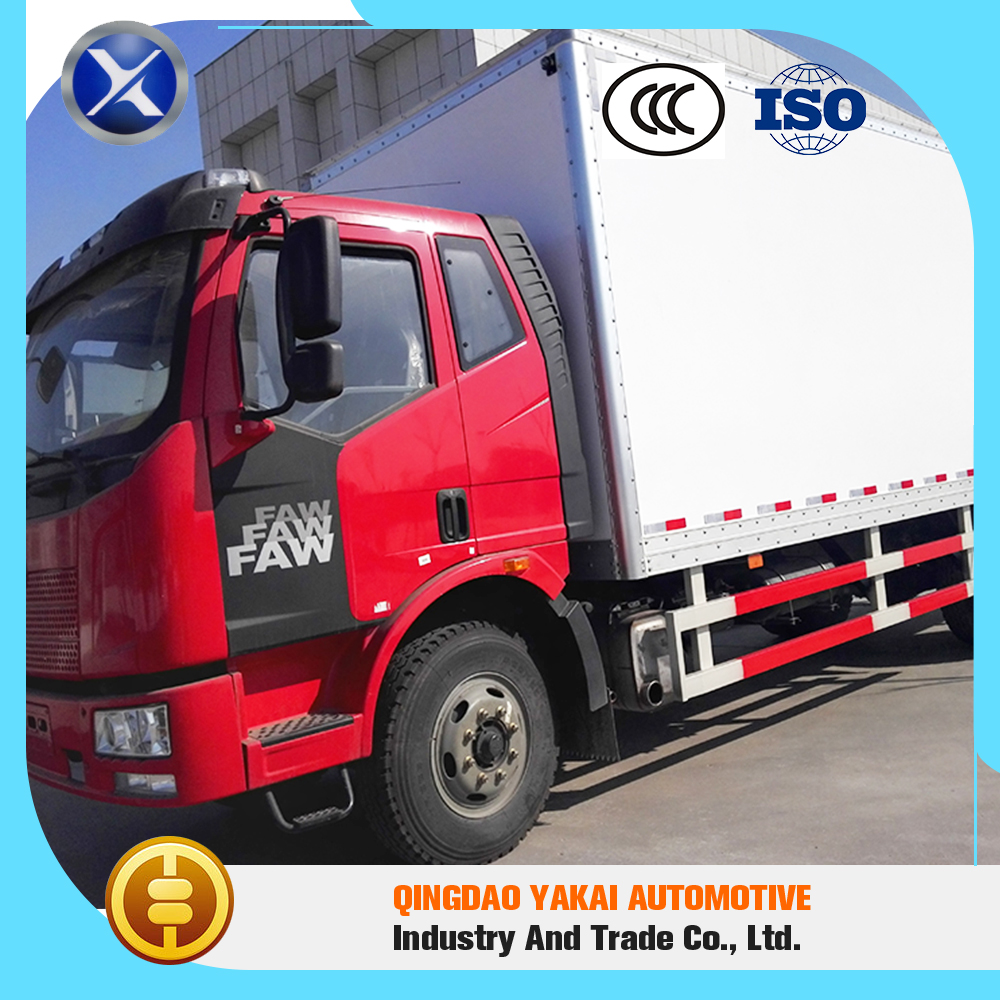 High quality pass ISO CCC ckd dry box truck body