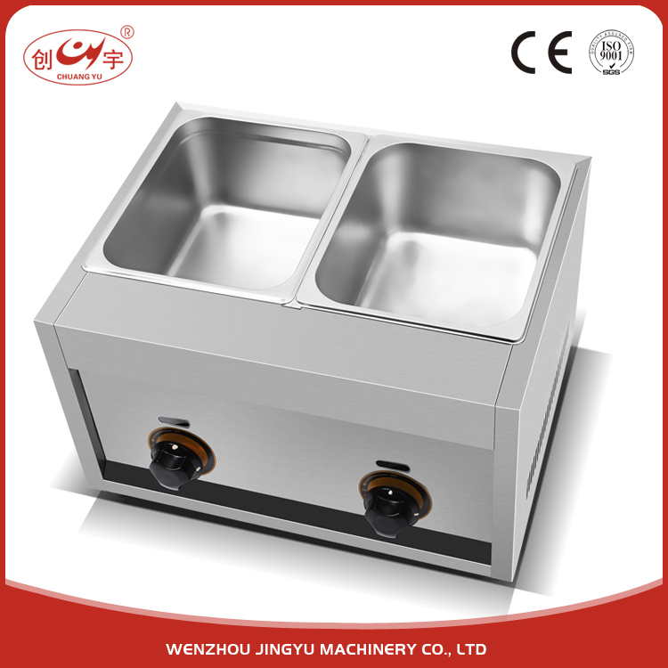 Chuangyu Factory For Sale Gas Power Fring Chips Commercial Chicken Pressure Fryer With CE Certification