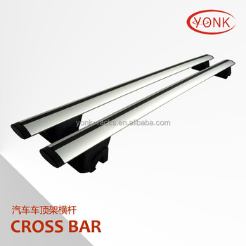 Delux Aluminum Auto car roof rack roof rail bar cross bar roof carrier