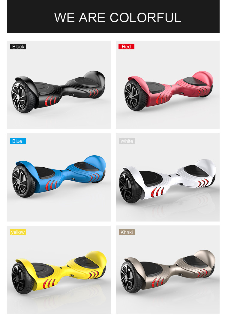 scooter hoverboard 2017 most popular Christmas gift top quality smart scooter