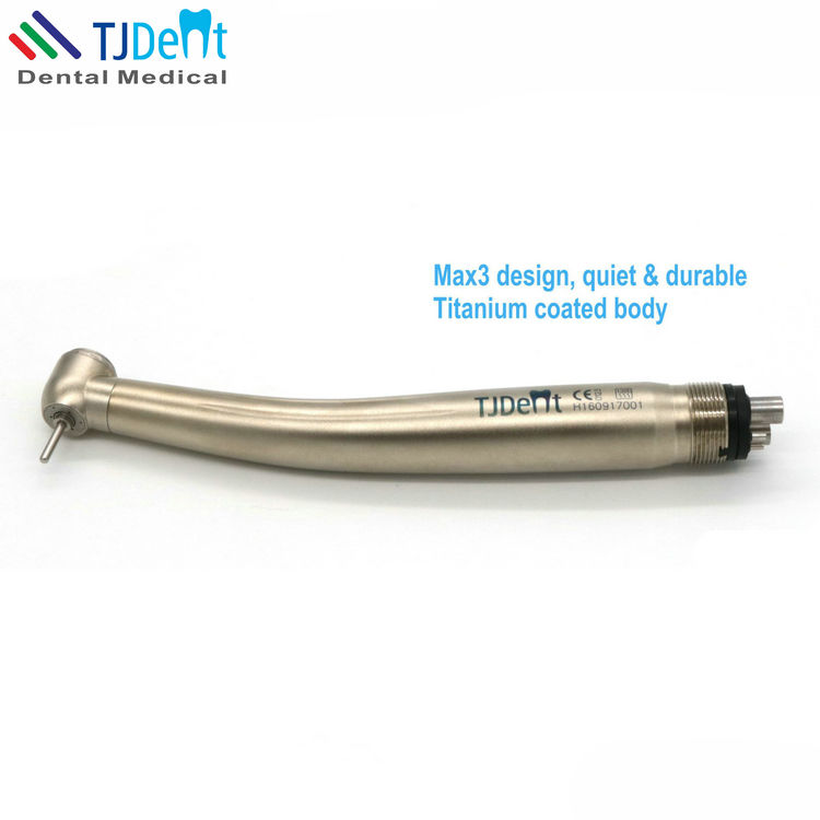 Max3 Titanium Coated Body Quiet and Durable Dental Handpiece