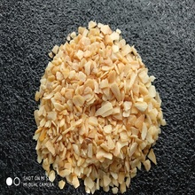 crushed air dehydrated garlic