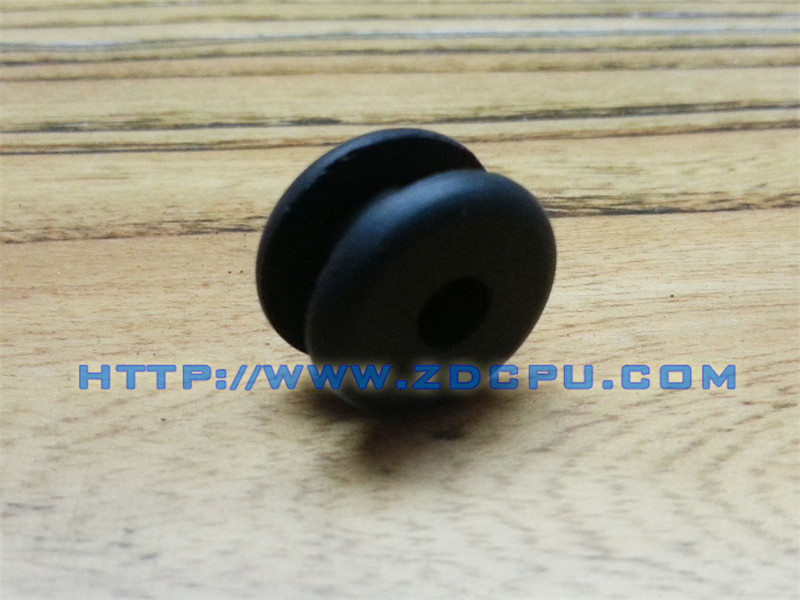 Black Flat Cable Sealing Rubber Grommet