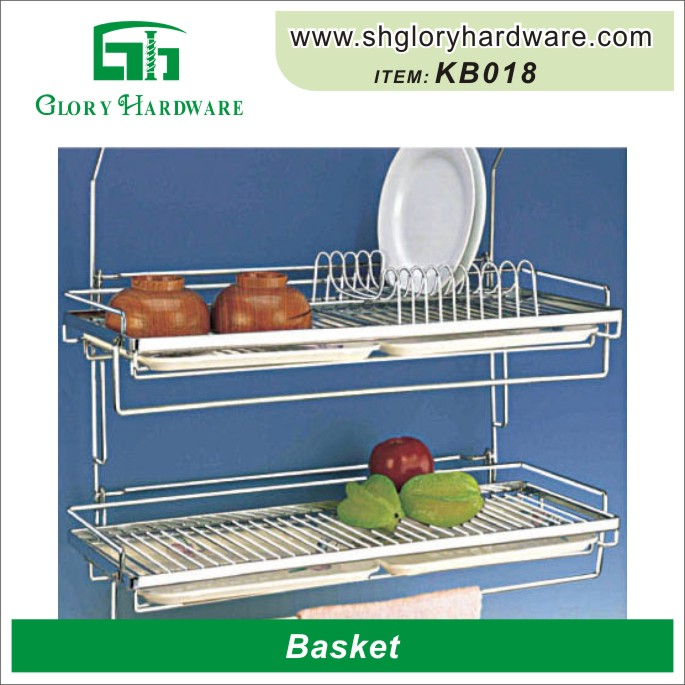 Fashionable High Quality Kitchen Tool Warehouse Storage Metal Wire Caddy Basket