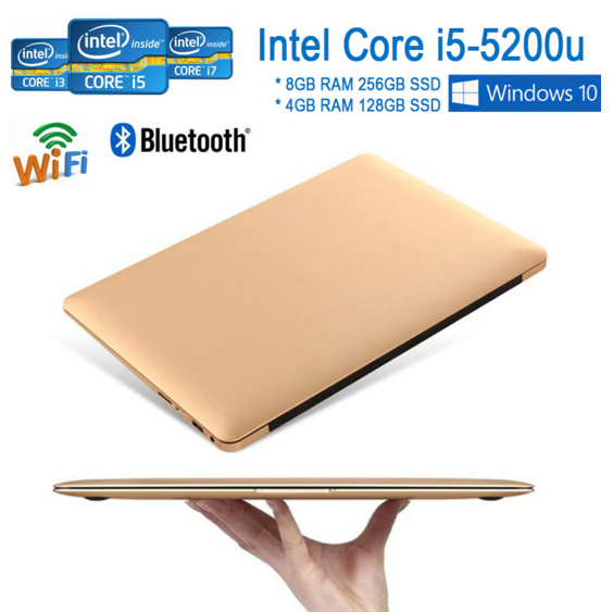 New products in Shenzhen! 13.3 inch low price mini laptop with Win10 Intel Core i5 5200u 8gb ram 256gb ssd