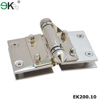 Stainless steel glass fitting adjust self closing door hinge